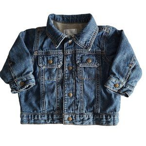 ☘️3/$30☘️ CHILDREN'S PLACE Lined Jean Jacket 12 mo